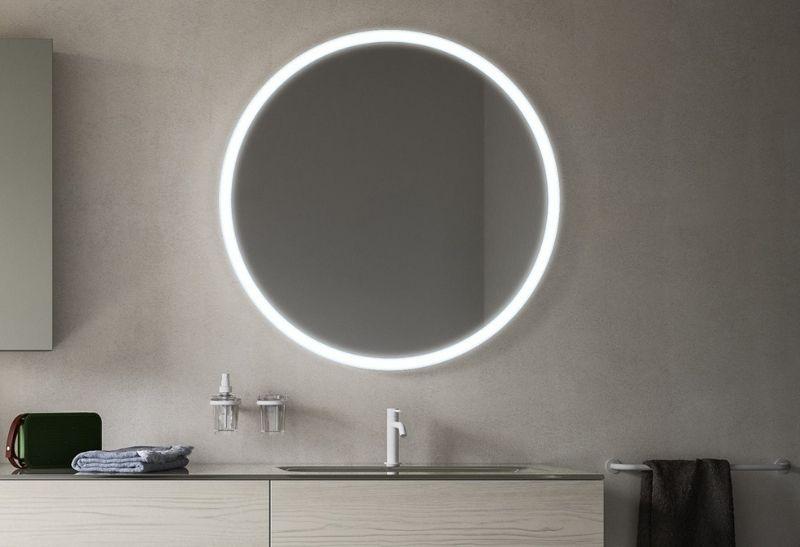 καθρέπτες μπάνιου με LED